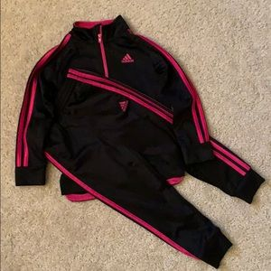 Adidas warm up girls Sz 5